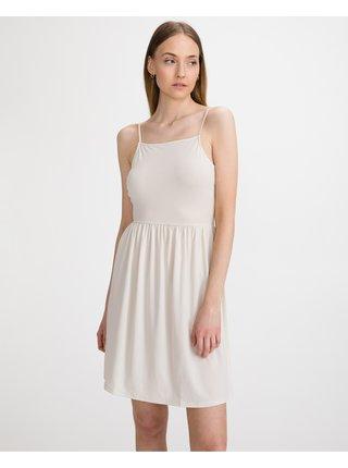 Voľnočasové šaty pre ženy VERO MODA - béžová