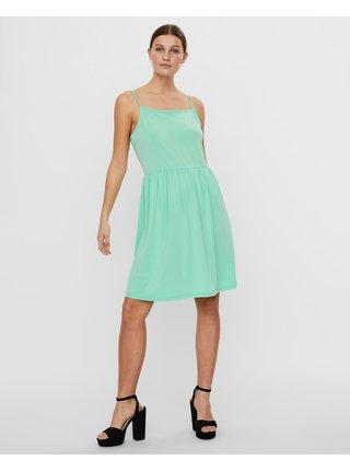 Voľnočasové šaty pre ženy VERO MODA - zelená