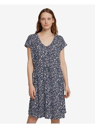Voľnočasové šaty pre ženy Tom Tailor Denim - modrá