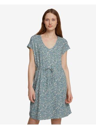 Voľnočasové šaty pre ženy Tom Tailor Denim - zelená