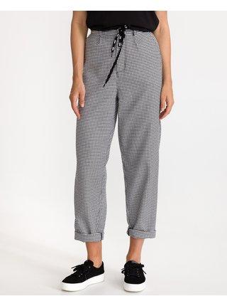 Nohavice pre ženy VANS - čierna, biela