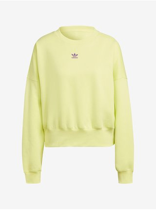 Mikiny pre ženy adidas Originals - žltá