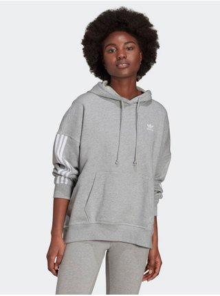 Mikiny pre ženy adidas Originals - sivá