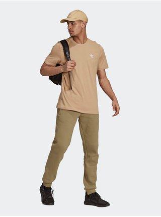 Tričká s krátkym rukávom pre mužov adidas Originals - hnedá
