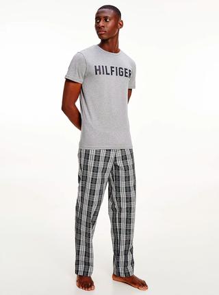 Šedé pánské tričko Tommy Hilfiger