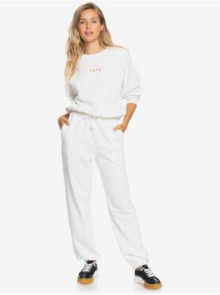 Tepláky pre ženy Roxy - biela