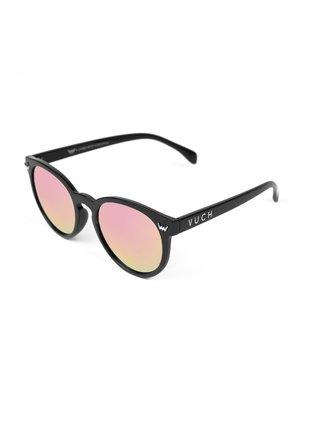 Růžovo-černé dámské sluneční brýle VUCH Foxy