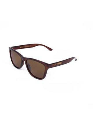 Hnědé dámské sluneční brýle VUCH Libby