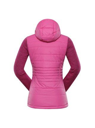 Dámská bunda ALPINE PRO NISIFA růžová