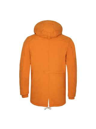 Pánský kabát s dwr úpravou ALPINE PRO EDIT 2 hnědá