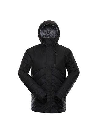 Pánská zimní bunda s membránou ALPINE PRO GABRIELL 4 černá