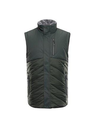 Pánská vesta s membránou ptx ALPINE PRO LENER zelená
