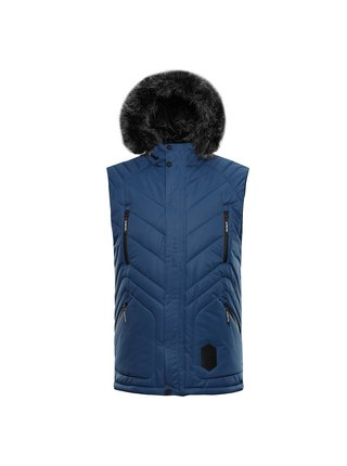 Pánská zimní vesta s membránou ALPINE PRO JARVIS 3 modrá
