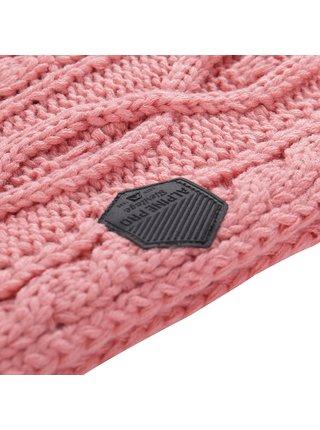 Pletená šála ALPINE PRO GOZONE růžová