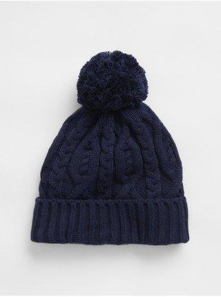 Doplňky - Dětská čepice cable hat Modrá