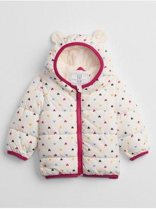 Bílá holčičí bunda wmst jacket