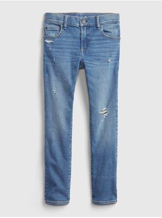 Modré klučičí džíny slim soft