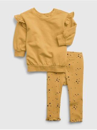 Žlutá holčičí souprava tunic set