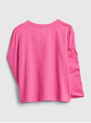 Růžové holčičí tričko graphic t-shirt