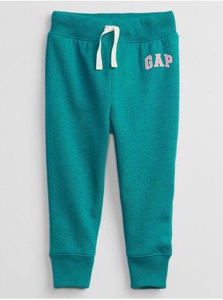 Zelené holčičí tepláky GAP Logo