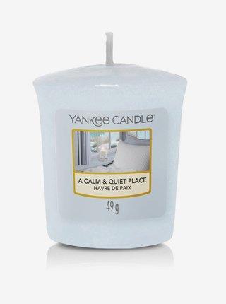 Vonná svíčka Yankee Candle A Calm & Quiet Place (votivní)