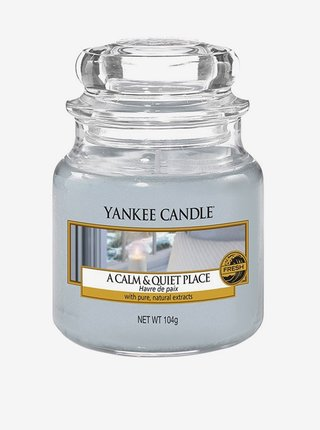 Vonné sviečky a tyčinky Yankee Candle - svetlomodrá