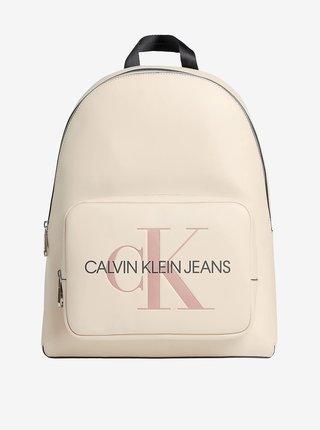 Krémový dámský batoh Calvin Klein