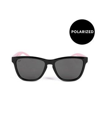 Růžovo-černé dámské sluneční brýle VUCH Tilly