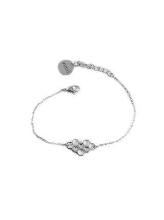 Dámský náramek ve stříbrné barvě VUCH Bee Silver