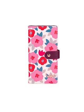 Růžová dámská malá vzorovaná peněženka VUCH Millie
