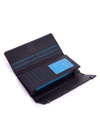Tmavě modrá dámská velká peněženka VUCH Otillia