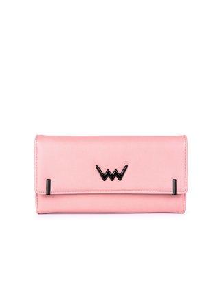 Růžová dámská velká peněženka VUCH Monna