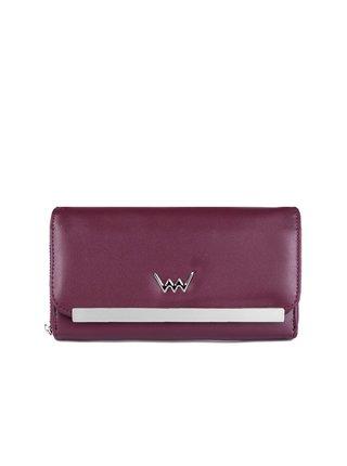 Vínová dámská velká peněženka VUCH Eleni