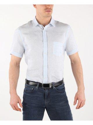 Košele s krátkym rukávom pre mužov Trussardi Jeans - modrá