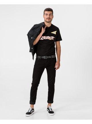 Tričká s krátkym rukávom pre mužov Frankie Morello - čierna