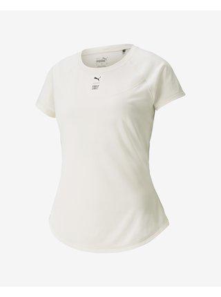 Tričká s krátkym rukávom pre ženy Puma - biela