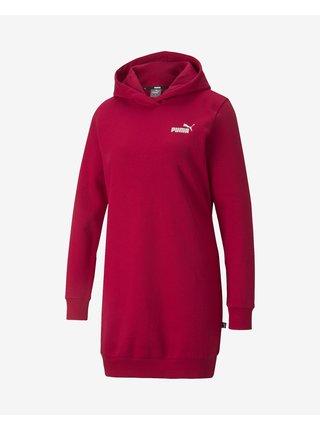 Voľnočasové šaty pre ženy Puma - červená