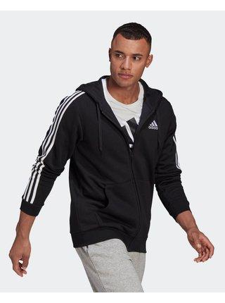 Mikiny s kapucou pre mužov adidas Performance - čierna