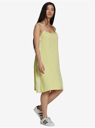 Šaty na denné nosenie pre ženy adidas Originals - žltá