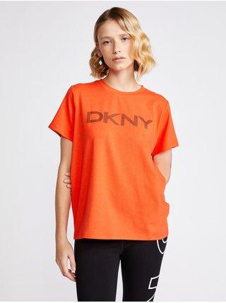 Striped Logo Triko DKNY