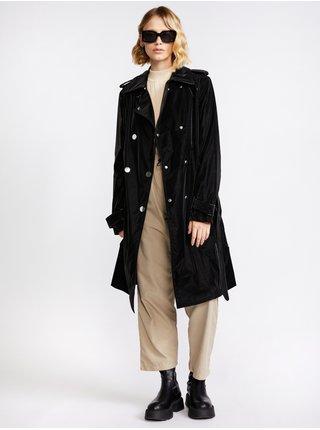 Kabáty pre ženy Guess - čierna