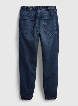 Modré klučičí džíny lined denim joggers