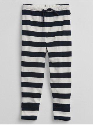 Černé klučičí tepláky stripe pants