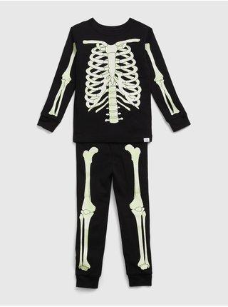 Černé klučičí pyžamo bones gid