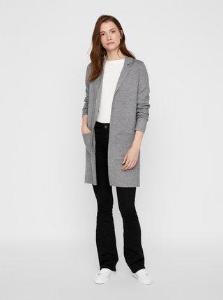 Trenčkoty a ľahké kabáty pre ženy VERO MODA - svetlosivá