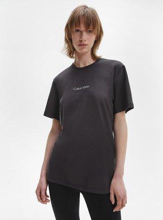 Černé dámské volné tričko Calvin Klein