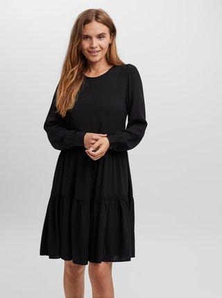 Čierne šaty VERO MODA Nads