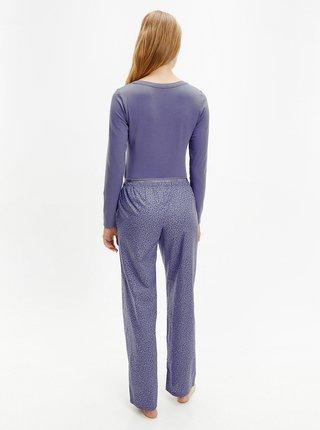 Světle fialové dámské pyžamo Calvin Klein