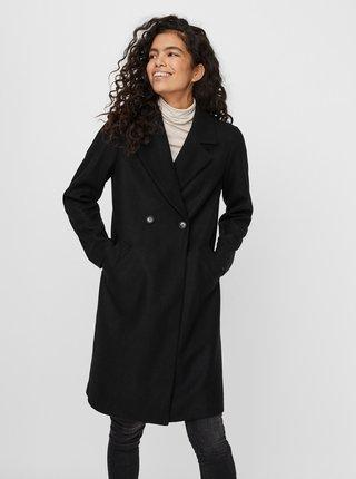 Čierny kabát VERO MODA Fortuneaddie