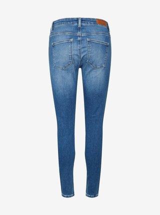 Modré skinny fit džíny VERO MODA Peach